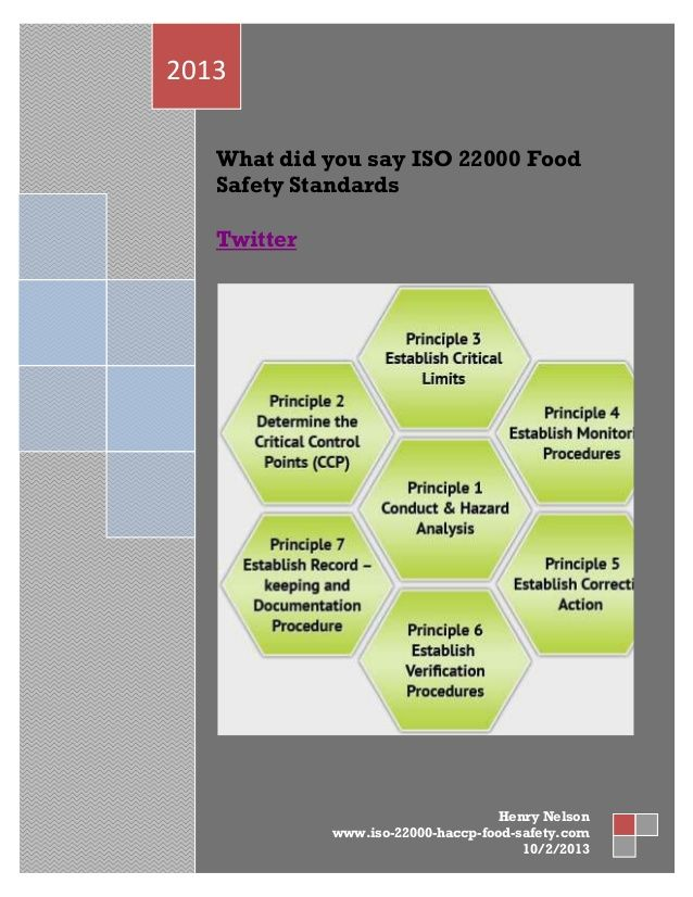 What Did You Say Iso 22000 Food Safety Standards Food Safety Standards Food Safety Safety Management System
