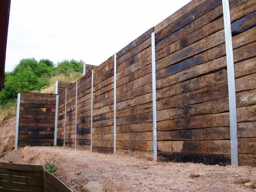 Cost Of A New Fence Subaru Enthusiast Forum Scoobynet Com Sleeper Retaining Wall Railway Sleepers Landscaping Retaining Walls