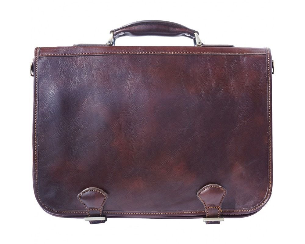 Italian Handmade Leather Messenger Briefcase 7610  f91ccd472a131
