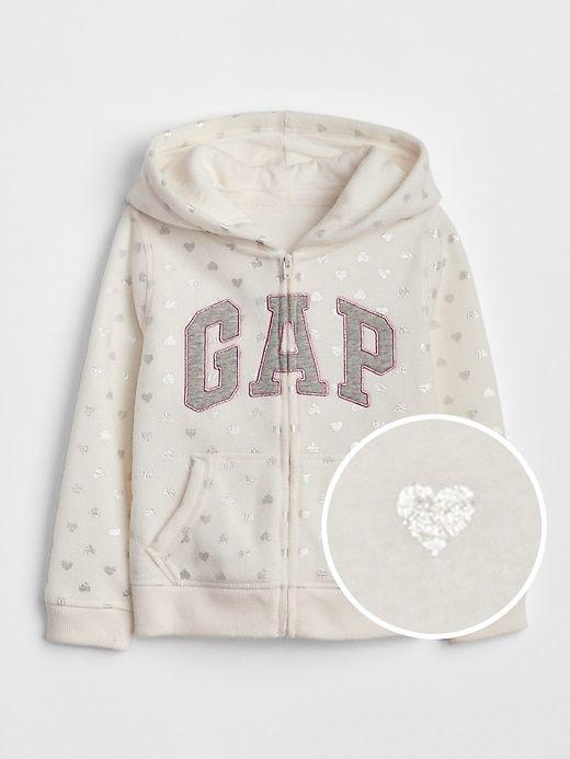 d477d284f Logo Hoodie Sweatshirt in Heavyweight Fleece   Products   Toddler ...