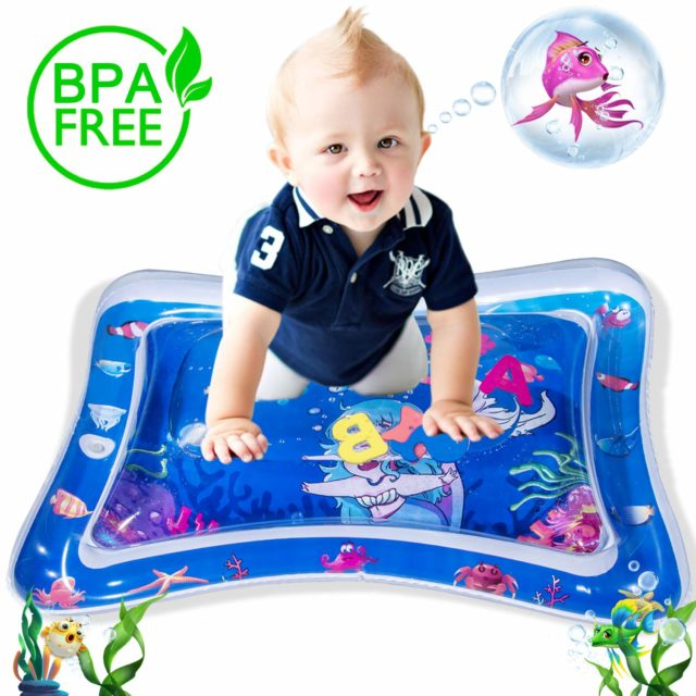 10 Best Inflatable Tummy Time Water Play Mats For Babies Water Play Mat Tummy Time Playmat