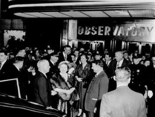 1954: Throwback Thursday—In 1954, we were honoured to have Queen Elizabeth The Queen Mother visit the building. Having grown up with six brothers and three sisters, she was unfazed by the crowds that gathered before, during and after her visit.