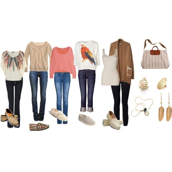 Casual Weekday Clothes With TOMS | Polyvore | Pinterest | Toms Clothes And School Outfits 2014