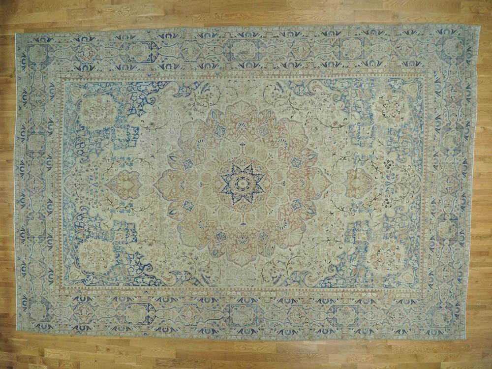 Antique Persian Kerman Oversize Good Cond Handmade Rug Handmade Rug Rugs Antique Oriental Rugs