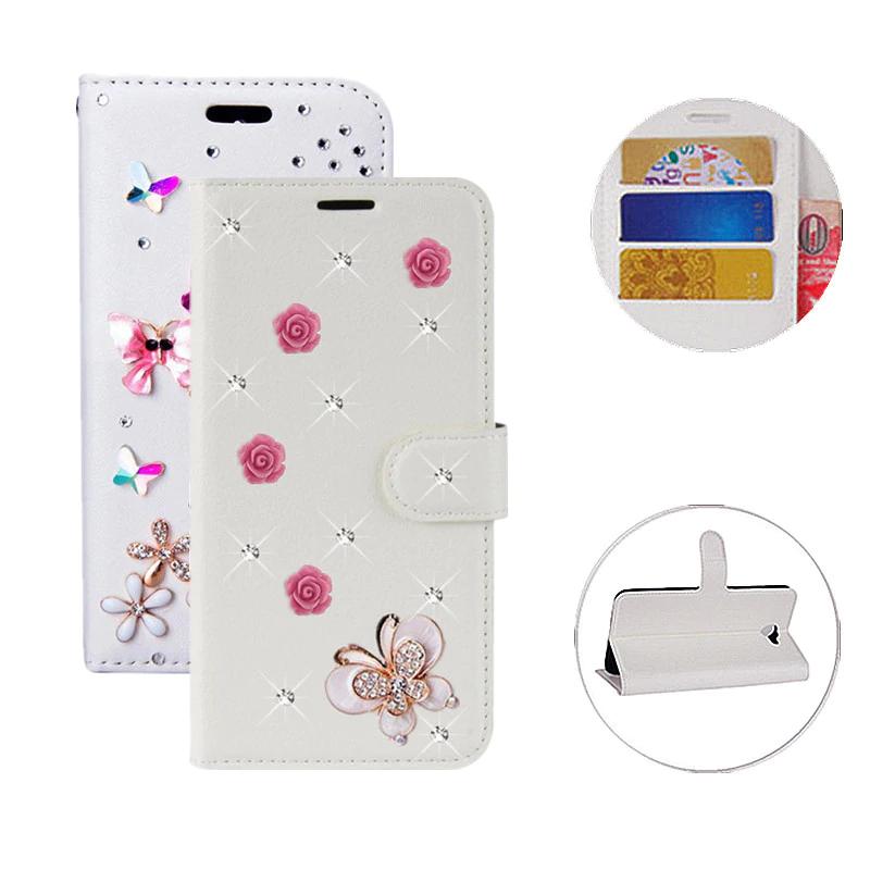 Luxury Glitter Wallet Bling Leather Flip Case For Huawei Nova 3I 2 ...