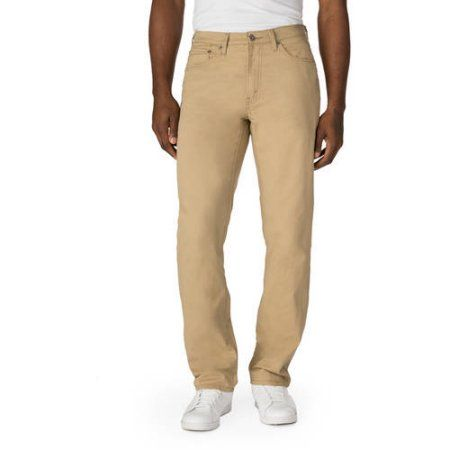 5447b193 Signature by Levi Strauss & Co. Men's Athletic Fit Jeans, Size: 30 x 32,  Beige