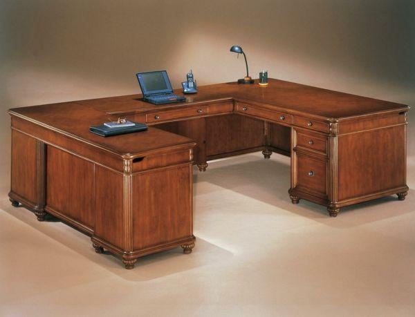 Dimensionen bei dem Büromöbel Design - büromöbel design edles holz ...
