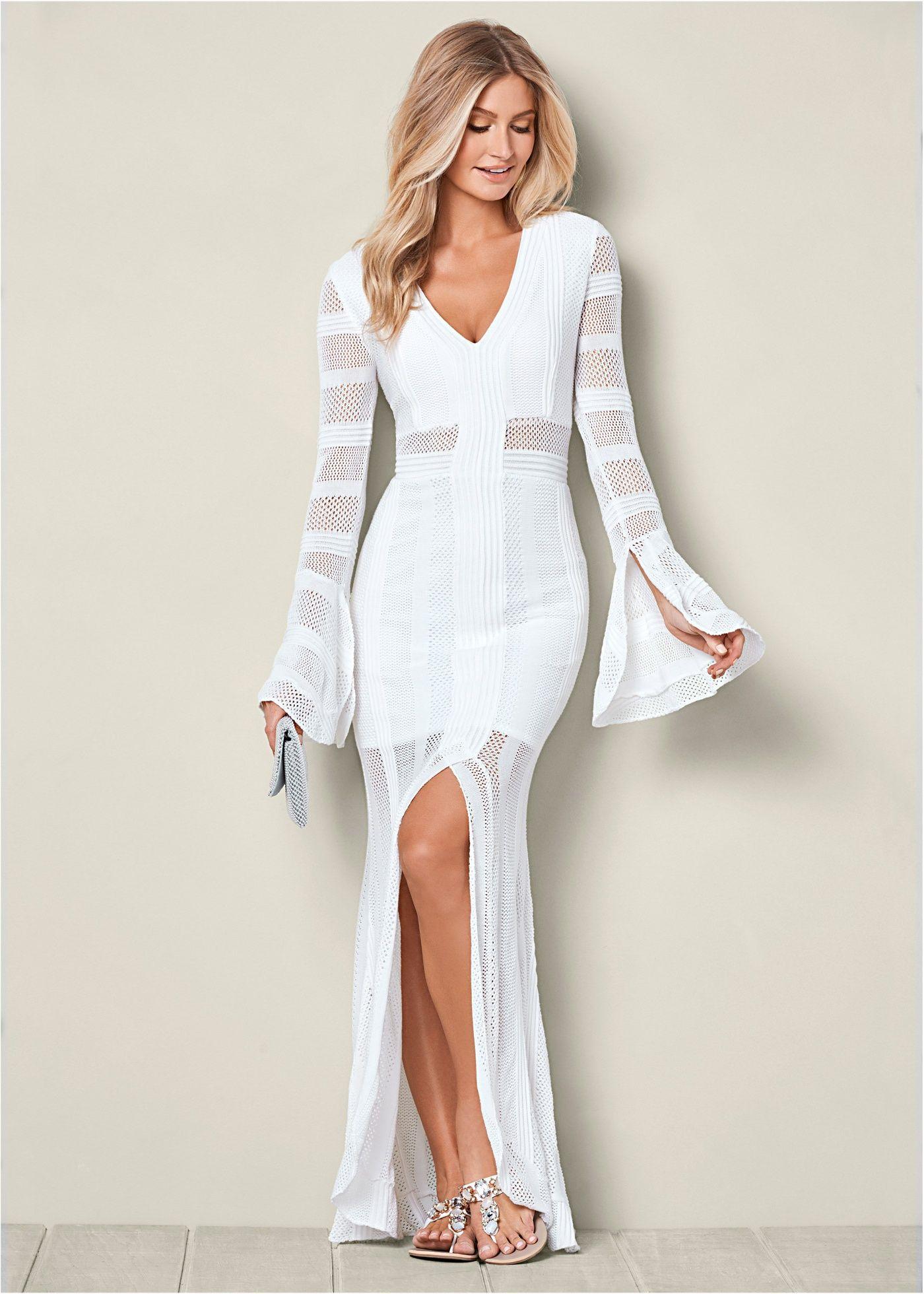 sommerliches spitzenkleid weiß - bodyflirt boutique jetzt im
