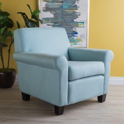 Astonishing Yonkers Club Chair Light Blue Christopher Knight Home Short Links Chair Design For Home Short Linksinfo