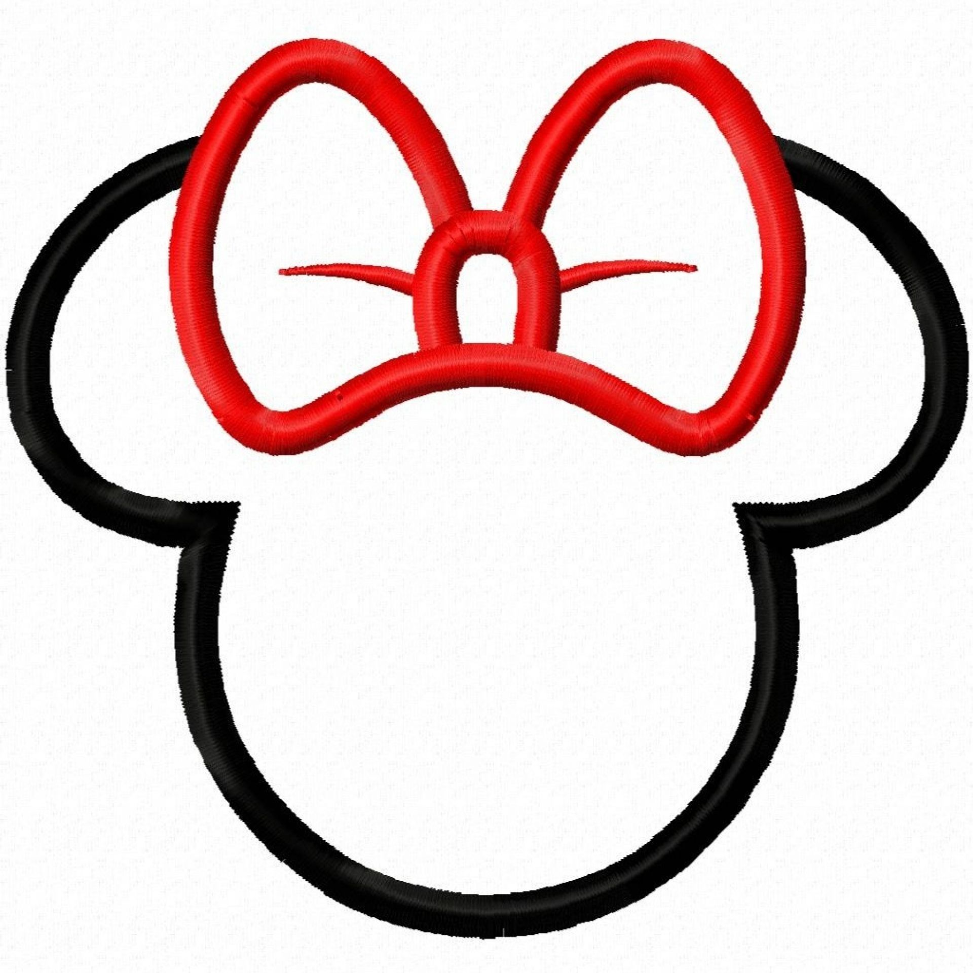 Minnie Mouse Silhouette Mickey Mouse Silhouette Mickey