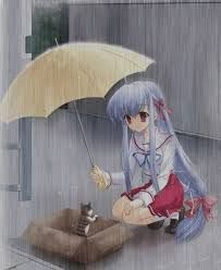 نتيجة بحث الصور عن انمي بنات تحت المطر Kawaii Neko Girl Anime Cat Anime People