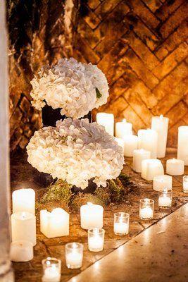 Old World, Fairytale, Mansion Wedding - Candles,  Wedding Decor,  Marisa Harris