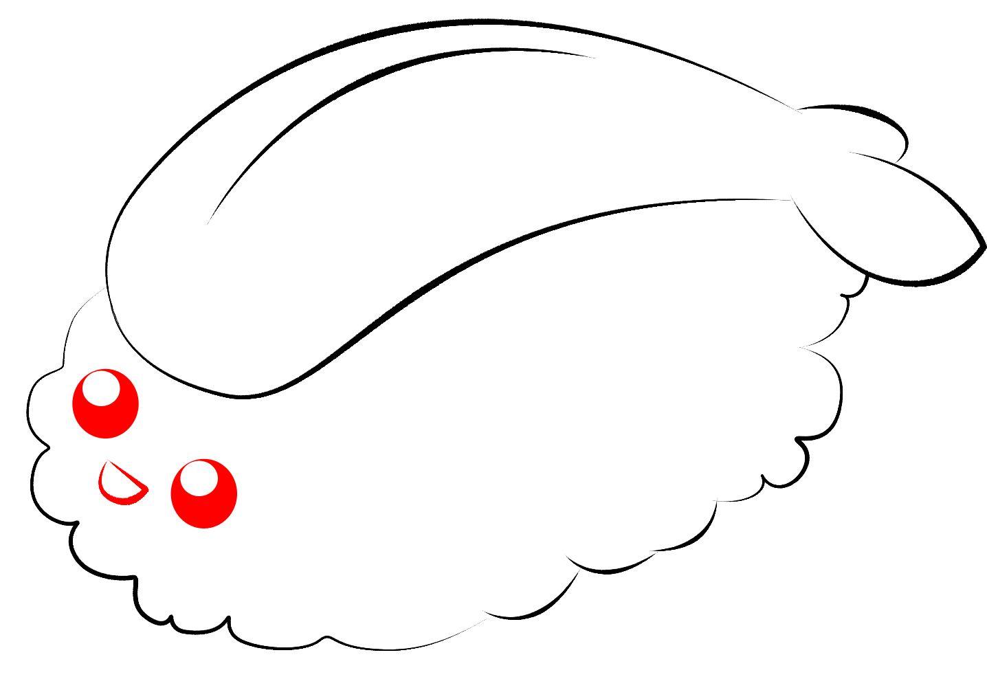 To Draw Kawaii Sushi