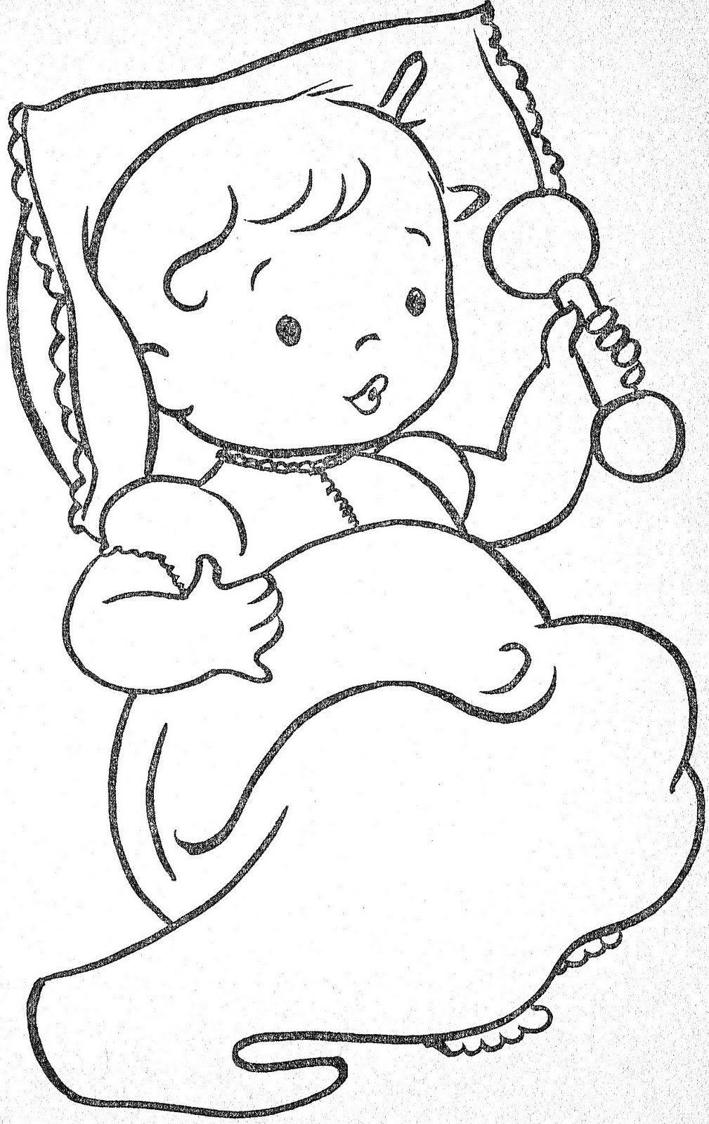 Tiny Tots COLORING BOOKS VINTAGE 1 Coloring pages to