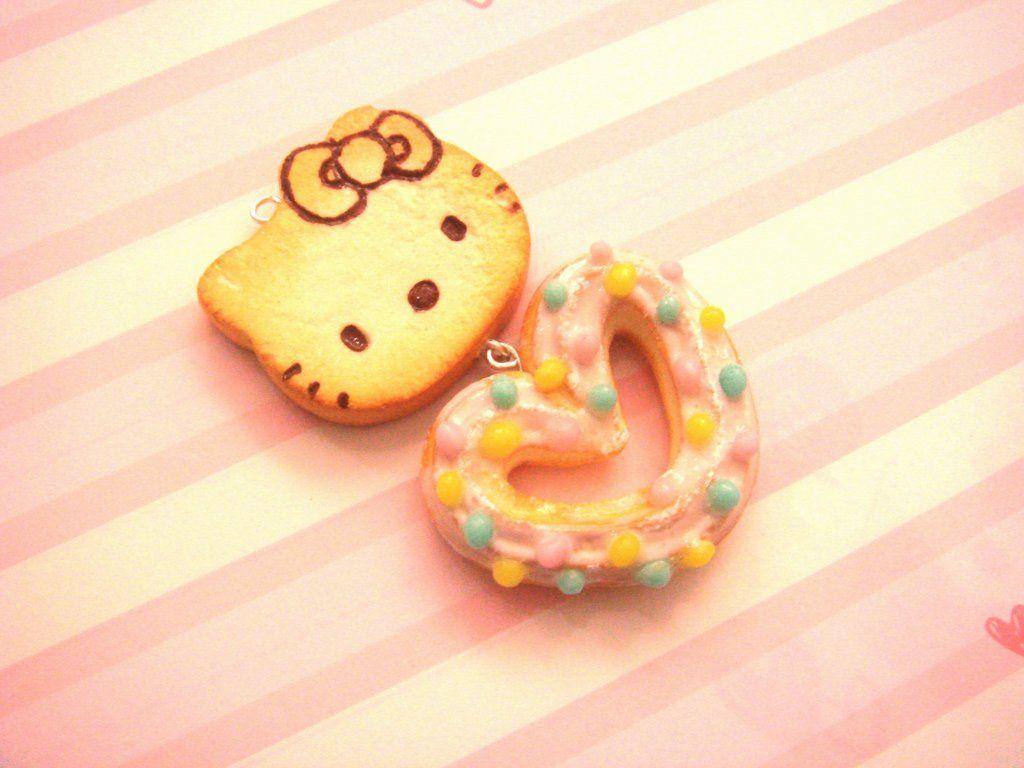 Hello Kitty Pancake and Sugar Coated Churro by ~tiramisuxfluff on deviantART