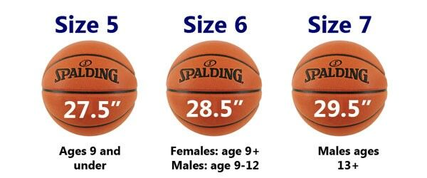 Basketball Sizes For All Ages Basketball Spalding Youth Basketball