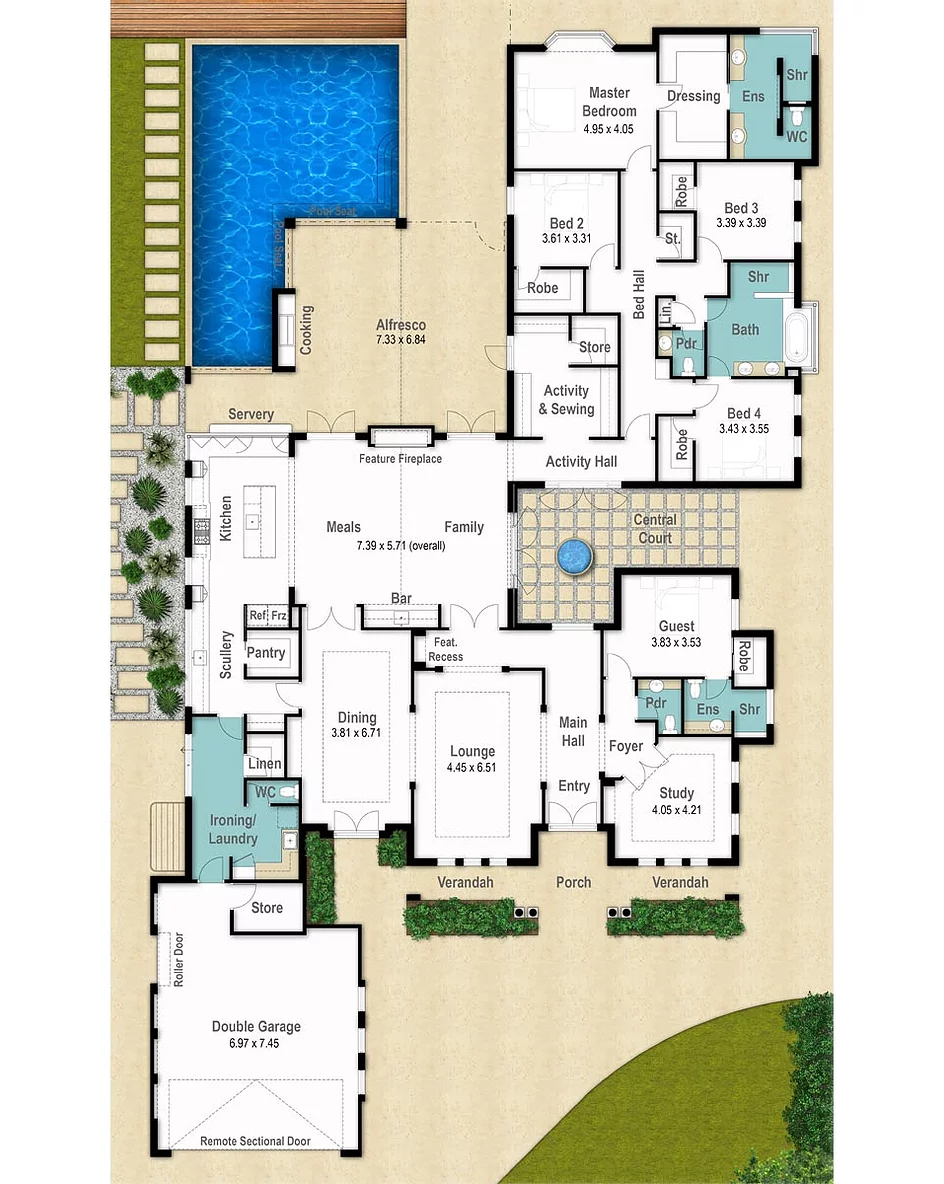 Pin By Gyula Suhajda On Future Home In 2020 Country Floor Plans Floor Plans Mansion Floor Plan