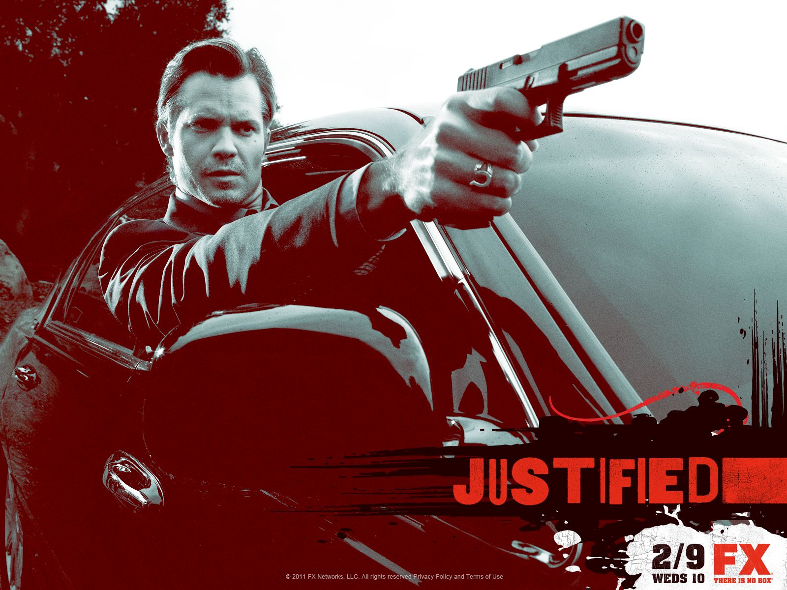 Justified TV Series Timothy Olyphant Cast Promo Photos
