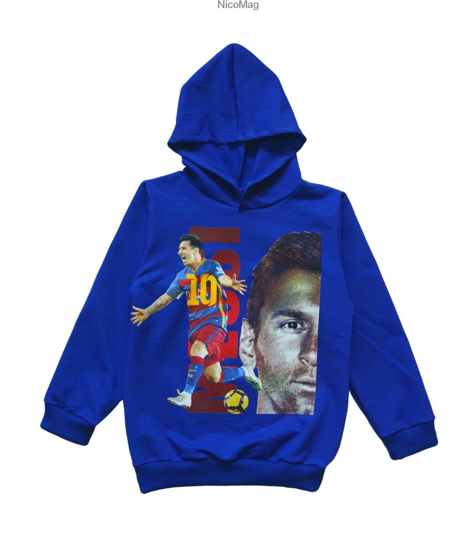 Bluza Messi Chlopiec Chaber Hoodies Messi Fashion