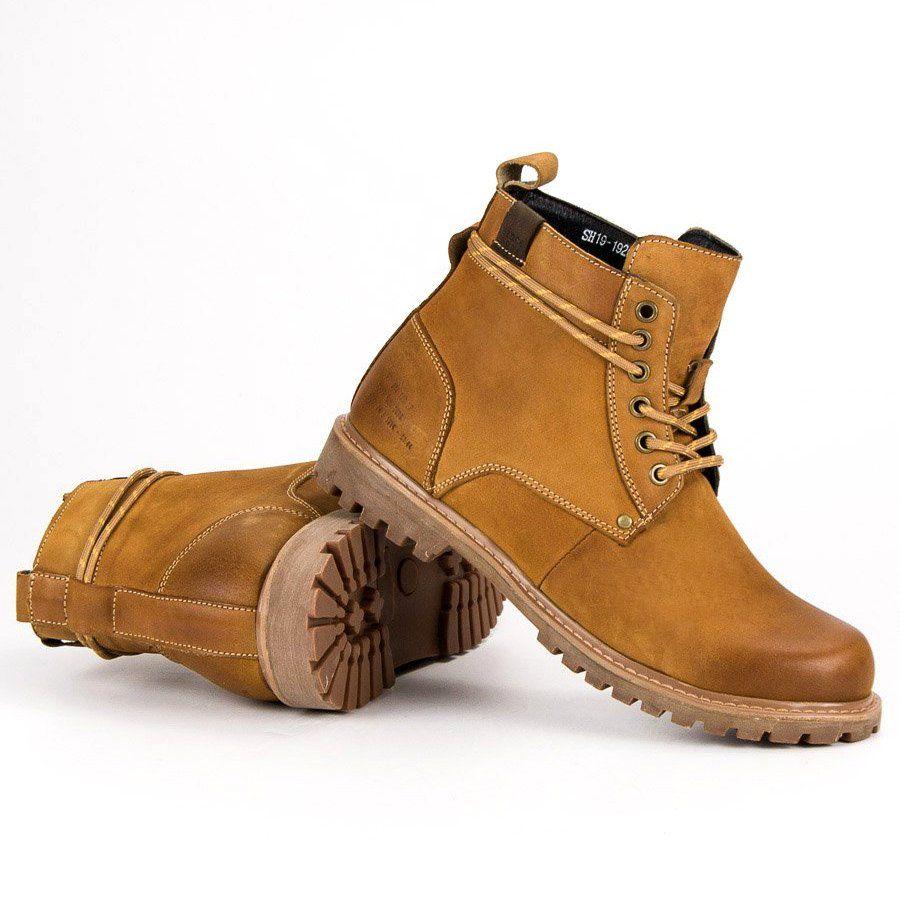 Trekkingowe Meskie Wolski Wolski Brazowe Skorzane Meskie Botki Timberland Boots Boots Shoes