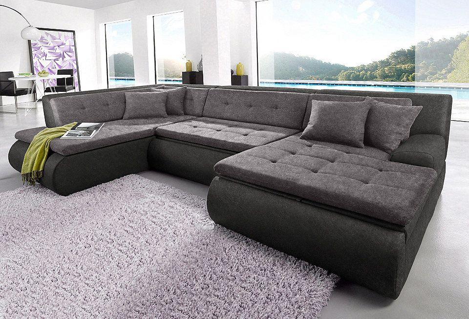 Wohnlandschaft, Trendmanufaktur, wahlweise mit Bettfunktion Jetzt - big sofa oder wohnlandschaft