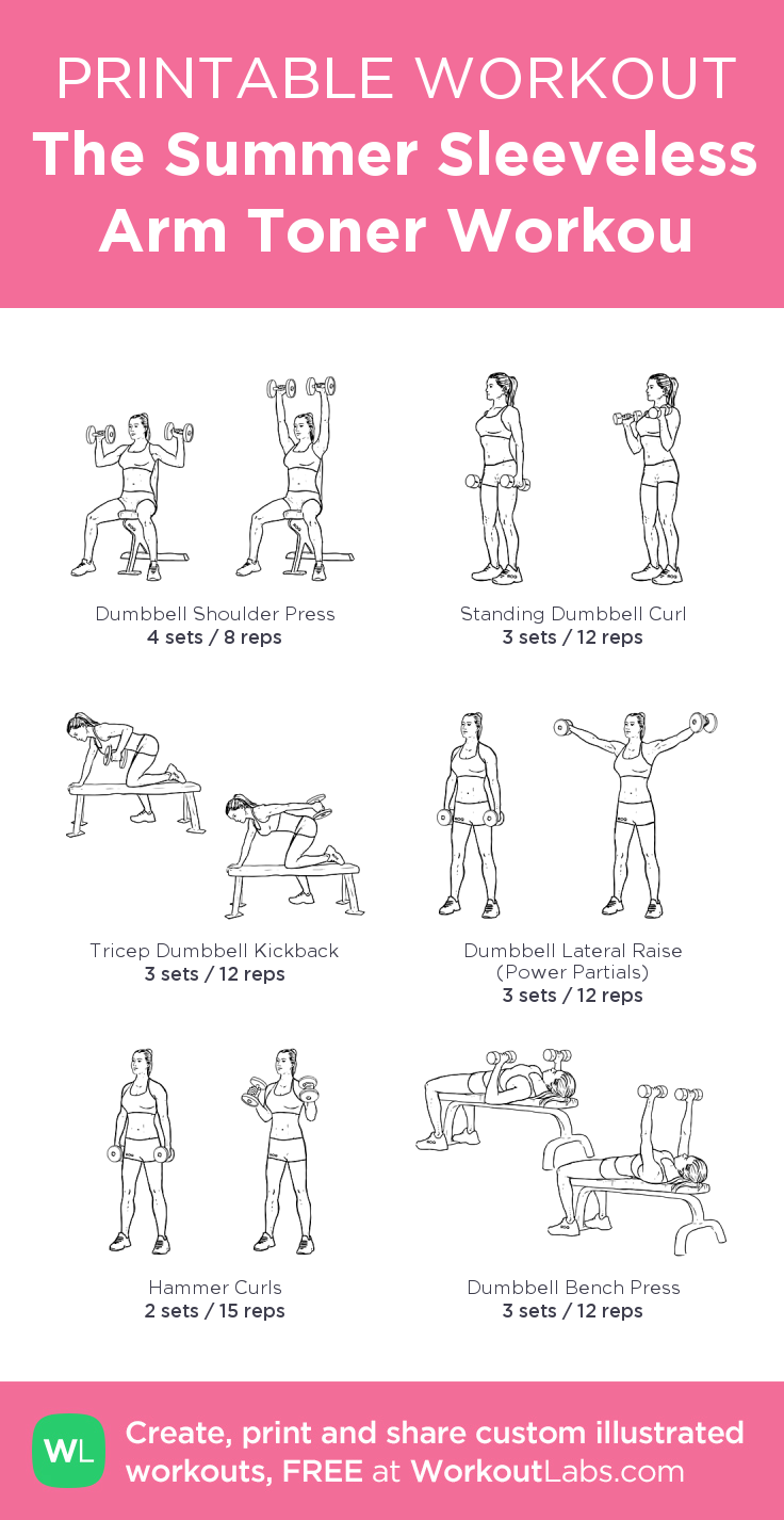 Universal image within free printable workout routines