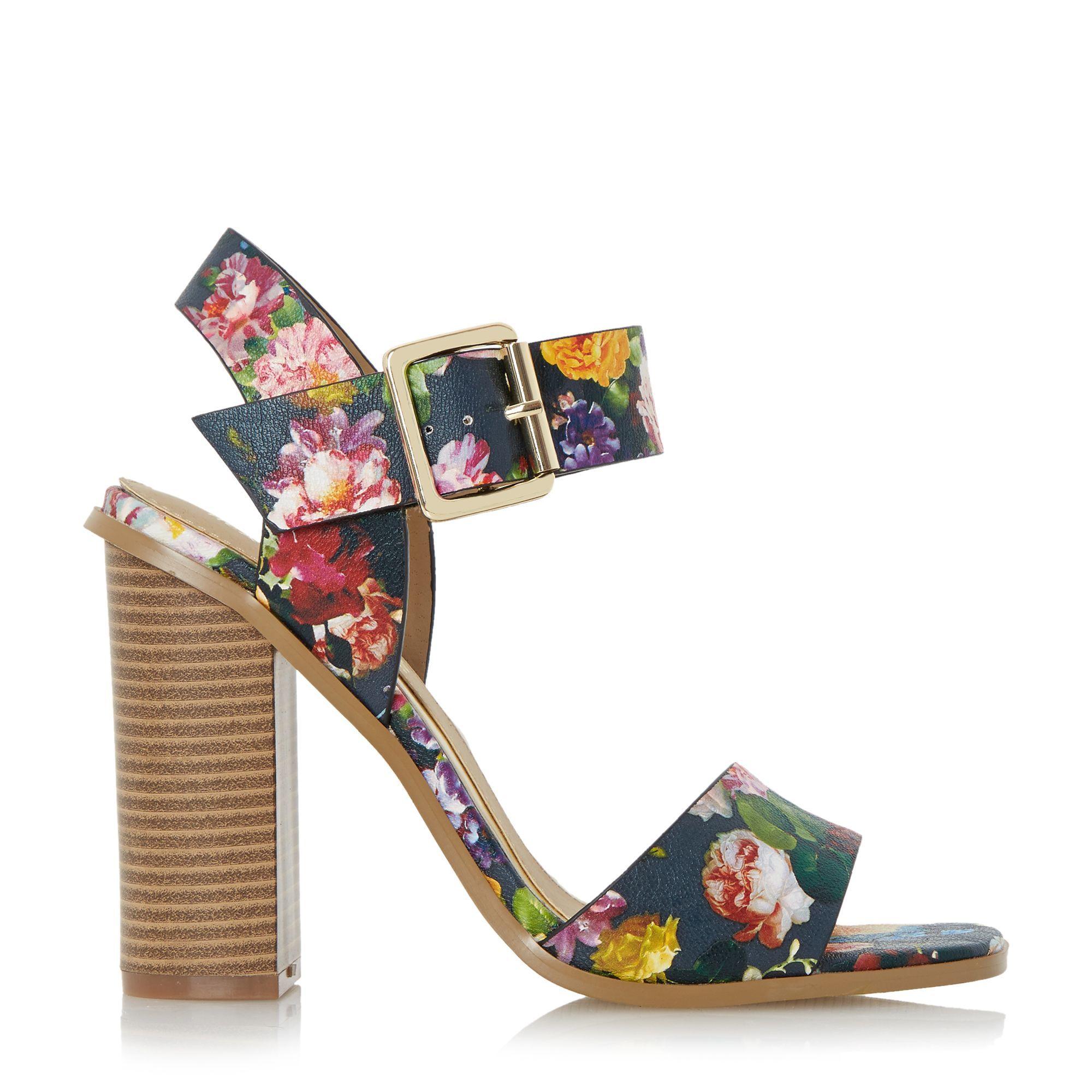 96fff39bc6 Buy Dune Women's Multicolor Ilana Chunky Block Heel Sandals, starting at  €18. Similar