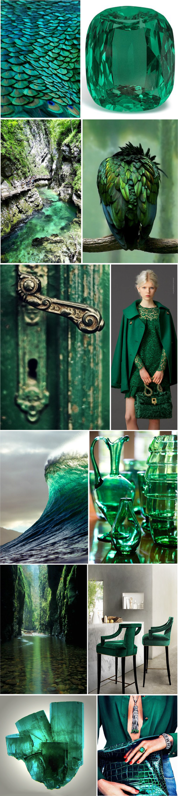 Beautiful Green Colour My Favourite Kind Of Green Color Collage