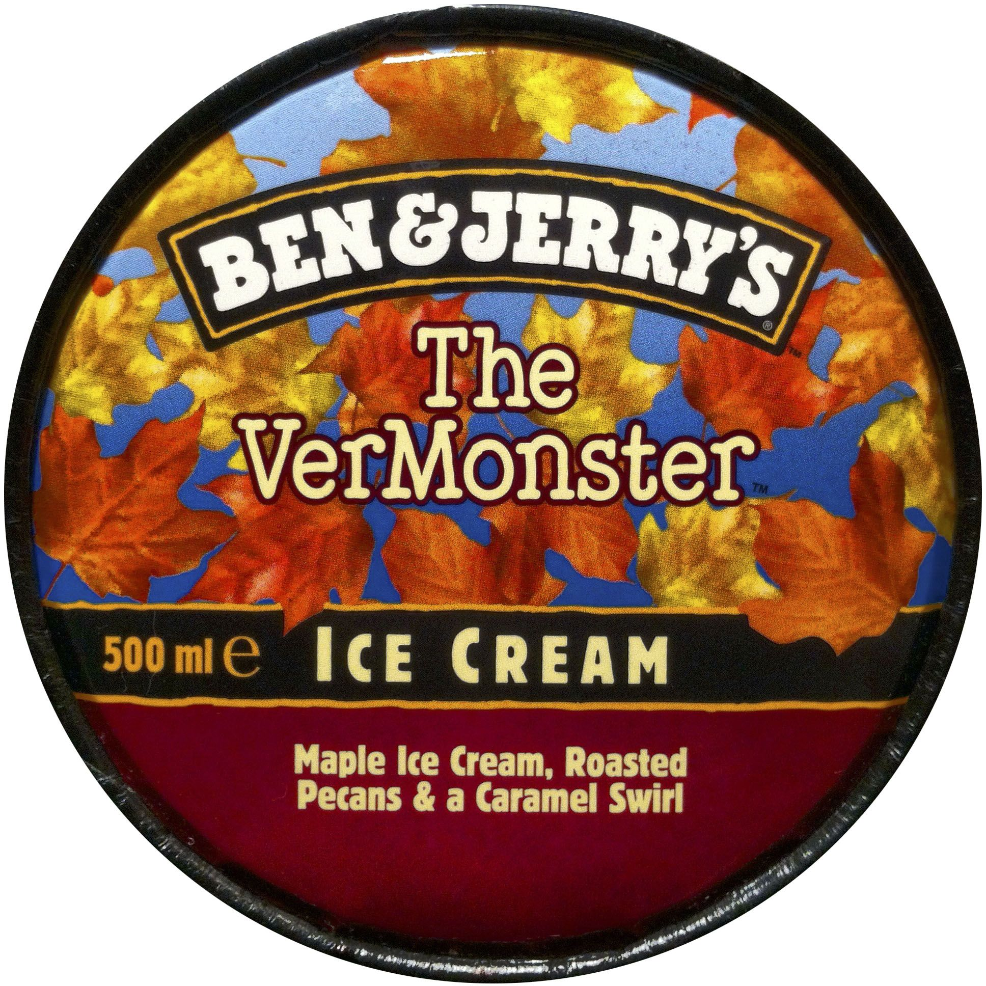 Uk Ben Jerry S The Vermonster Ice Cream Flavors Ben And Jerrys Ice Cream Maple Ice Cream