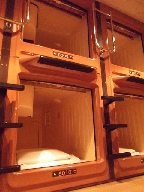Asakusa Riverside Capsule Hotel Favorite Places Spaces Tokyo