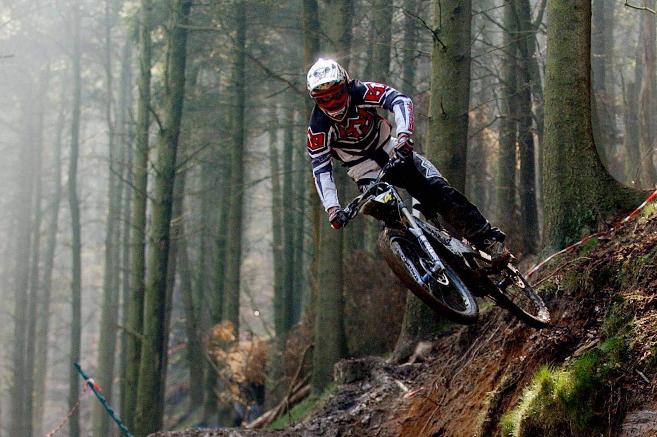 A new survey puts three Welsh sites among the top four mountain bike trails in Britain
