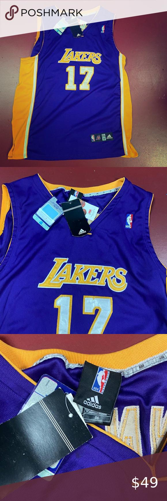 La Fabrique A Jersey : fabrique, jersey, Adidas, Lakers, Bynum, Jersey, Number, Clothes, Design,, Shirt,, Fashion, Design