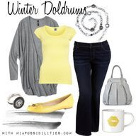 Outfit of the Week: Winter Doldrums | Mia Possibilities