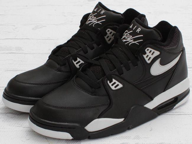 Nike Air Flight 89   Black / Cool Grey