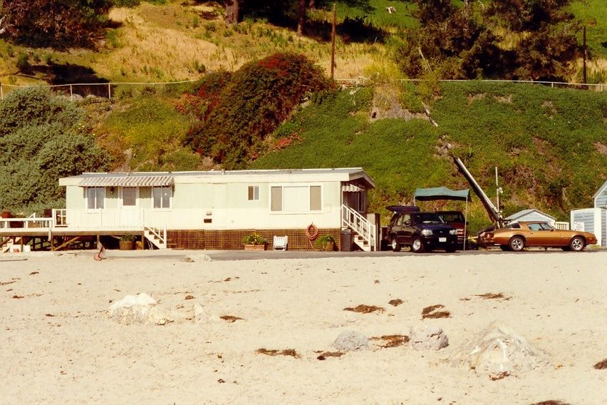Rockford trailer from the beach. The rockford files