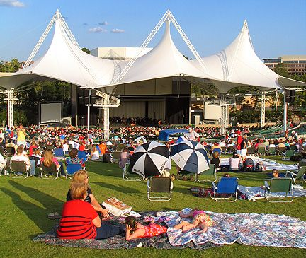 Cynthia Woods Mitchell Pavilion in The Woodlands, TX #KennedyTeam