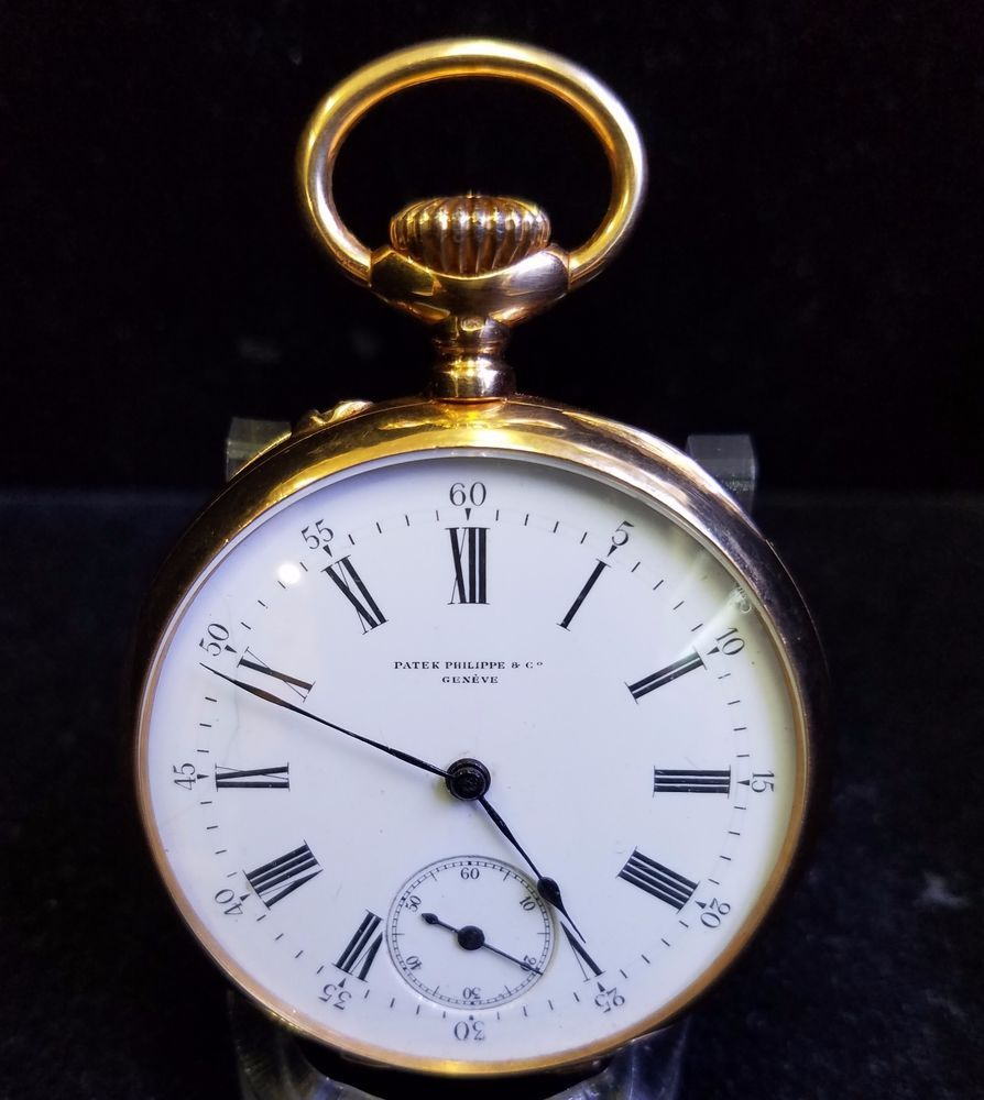 142b1965721 Patek Philippe Pocket Watch Rare Vintage 18 Karat Gold 58mm 1920-1925  Jewelry  PatekPhilippe