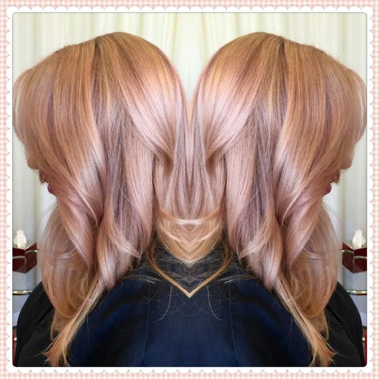 Pixie Rose Gold Google Suche Roségold Haarfarbe