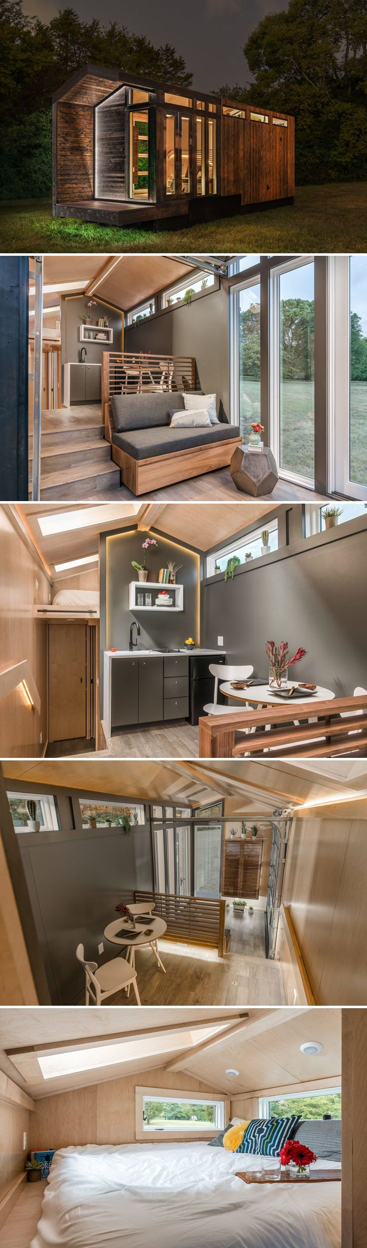 Orchid by New Frontier Tiny Homes #tinyhomes
