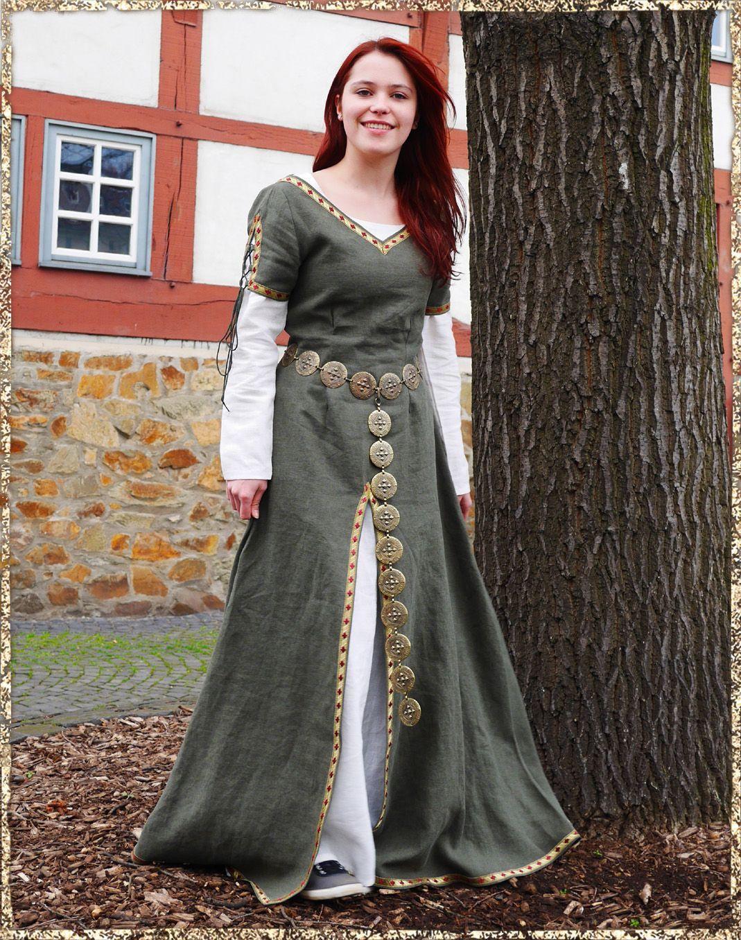 Kleid Marina | mittelalter | Pinterest | Mittelalter ...
