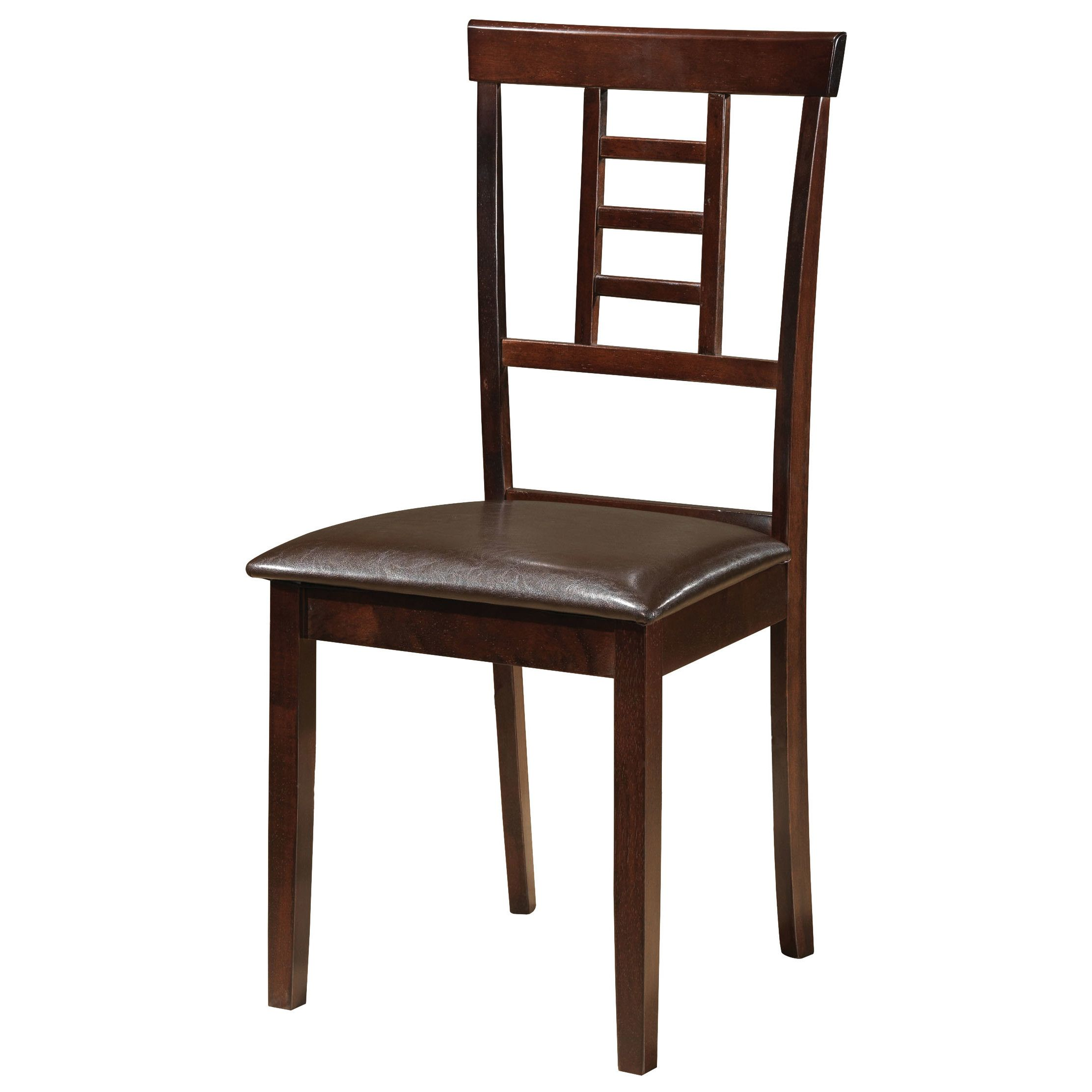 Glory Furniture Side Chair in Brown home sweet home