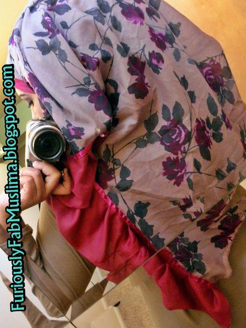 Nafiza J's Handbook for Life: DIY: Super Maxi Hijab!!!