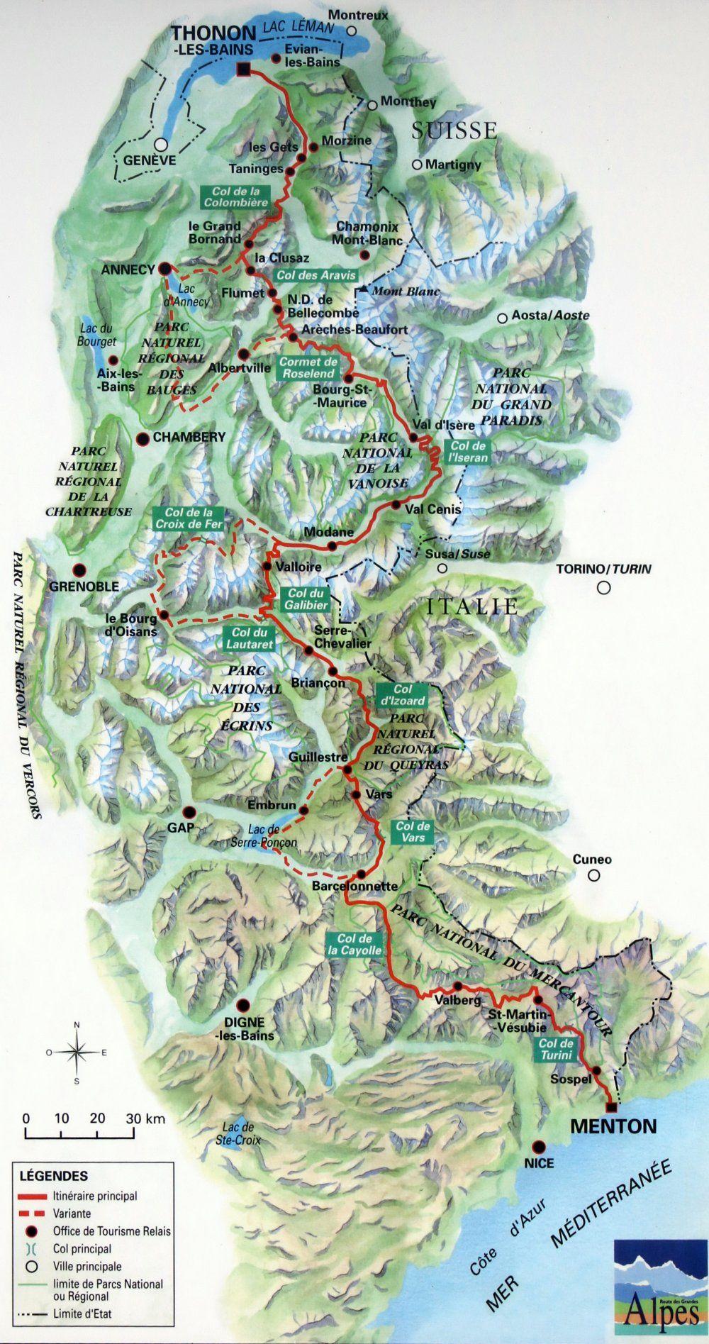 Berge Und Passe Der Alpen Alpen Motorradreise Berge