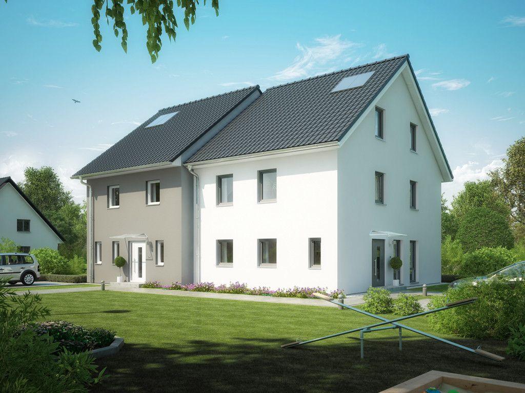 doppelhaus progeneration 194 doppelhaus von prohaus energieeffizientes fertighaus mit mehr. Black Bedroom Furniture Sets. Home Design Ideas