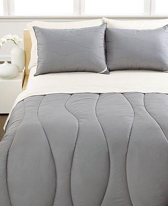 Calvin Klein Bedding Random Wave Comforter Down Comforters Bed