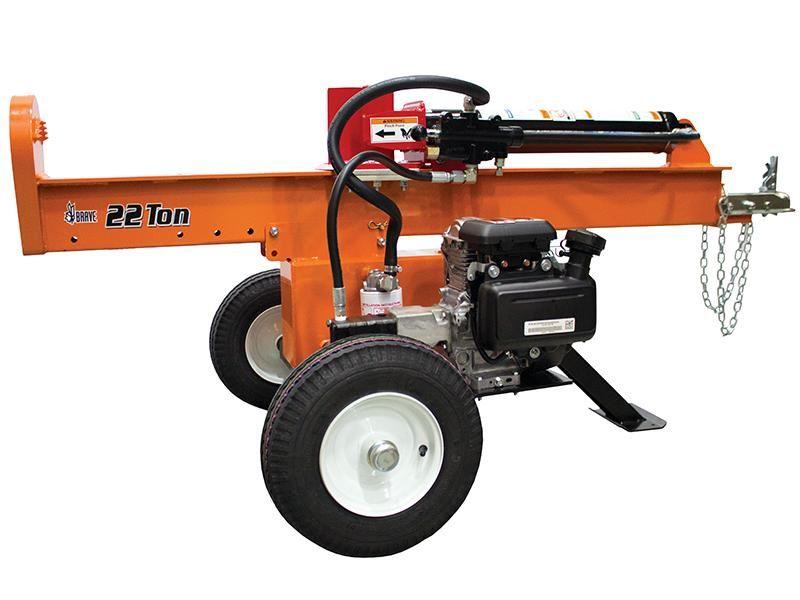 Brave 22 Ton Vertical Horizontal Log Splitter Vh1322gx Log Splitter Brave Outdoor Power Equipment