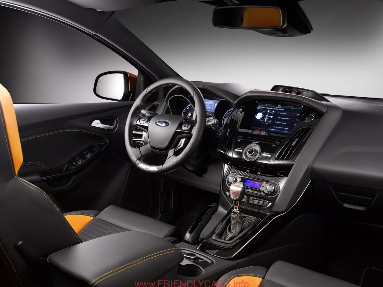 awesome ford focus 2014 interior car images hd paris preview 2012 ford focus st
