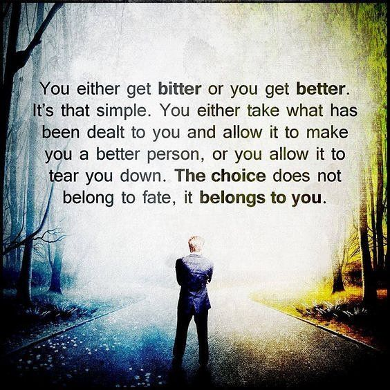 You always have the choice in how you interpret anything the key is having an open mind so you don't just accept it for what it is you learn more and challenge it.  The more you know the more you learn that you don't know.  #limitbreaklifestyle #openmind #love #freedom #happiness #powerofchoices #findyourjourney #breakyourlimits #igniteyoursoul #followyourheart #liveyourtruth #liveyourdreams