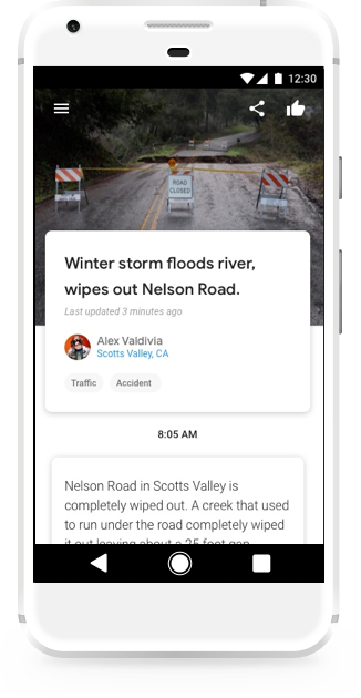 Google Introduces Bulletin Makes Everyone A Reporter With Images