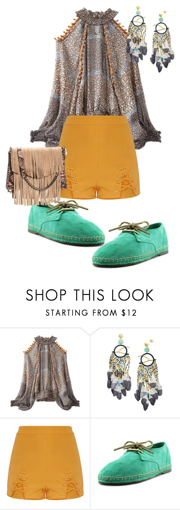 """W/O"" by live-ska ❤ liked on Polyvore featuring Tory Burch and Sebago"